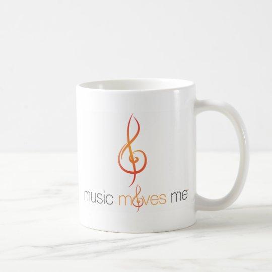Music Moves Me™ Double-Sided Logo Mug