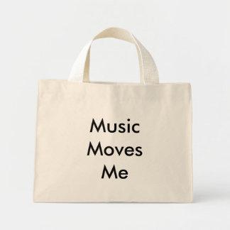 Music Moves Me Mini Tote Bag