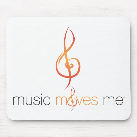 Music Moves Me™ Mouse Pad