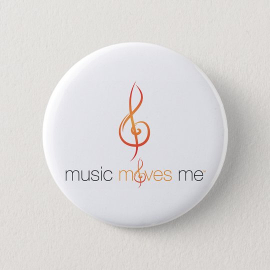 Music Moves Me™ Round Buttons w/ Safety Pin Clasp