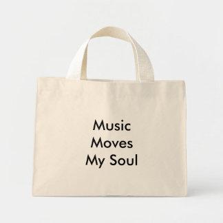 Music Moves My Soul Mini Tote Bag