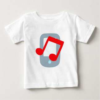 Music mp3 music more player infant t-shirt