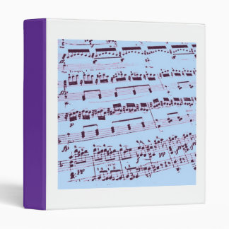 Music/Musician Binder