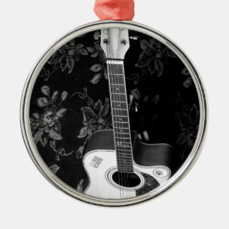Music My Bloods Metal Ornament