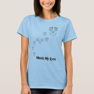 Music my Eyes - Baby T-Shirt