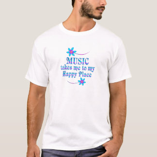 Music My Happy Place T-Shirt
