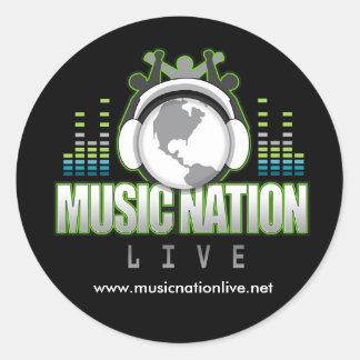 Music Nation Live Sticker