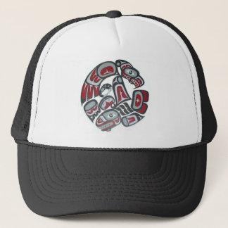 Music Native American Tribal Totem Trucker Hat