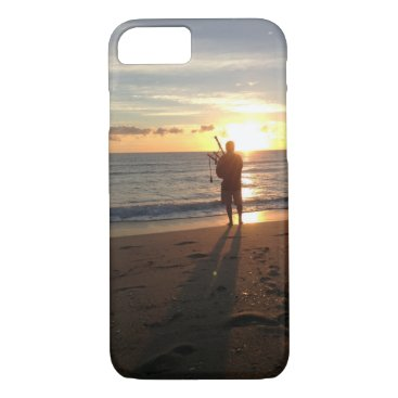 Beach Themed music & nature at its best , here comes the SUN iPhone 7 Case