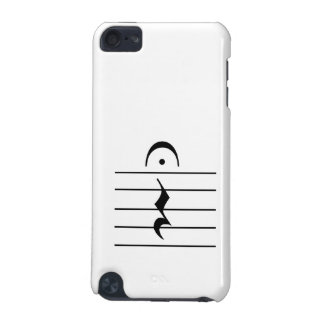 Music Notation Rest Blank iPod Touch (5th Generation) Case
