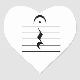 Music Notation Rest Blank Stickers