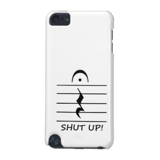 Music Notation Rest with Shut up iPod Touch 5G Case