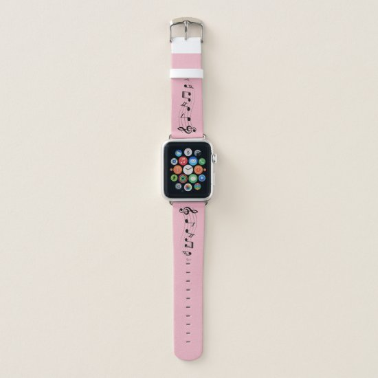 Music Note Apple Watch Band 39mm