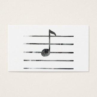 Music Note Art Business Card