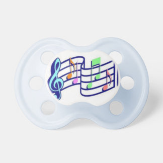 Music Note Baby Pacifier