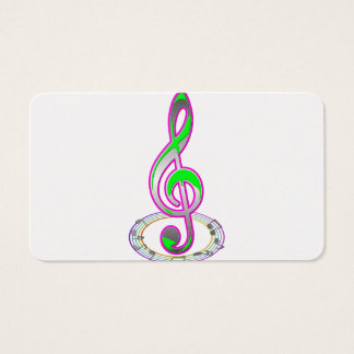 Music Note Business Card