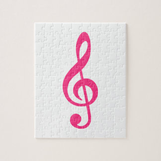 Music note clef puzzles