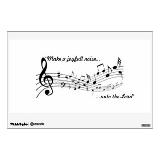 music note decal