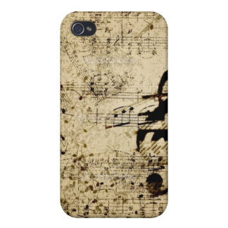 Music Note Fitted Case for iPhone 4/4s