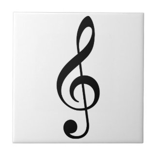 Music Note for Musicians or Music Lovers Ceramic Tiles