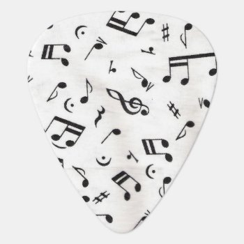 Music Note Guitar Pick by AmberNP at Zazzle