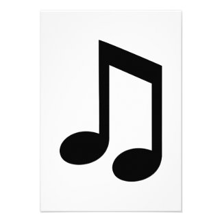 Music note announcements