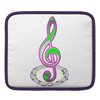 Music Note iPad Sleeve