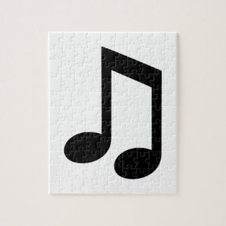 Music note jigsaw puzzles