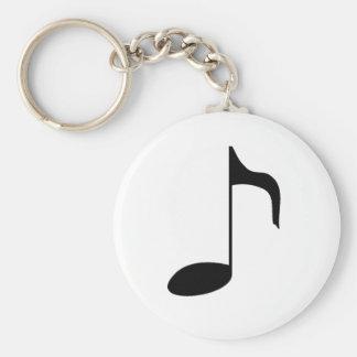 music note key chain