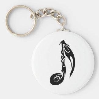 music note keychain