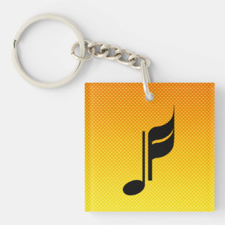 Music Note Acrylic Keychains