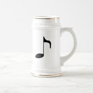 music note mug