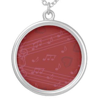 music note custom jewelry