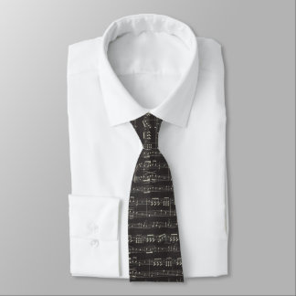 music note Pattern Music Theme Tie