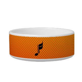 Music Note Pet Food Bowl