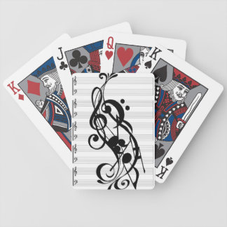 music note phone case bicycle card deck