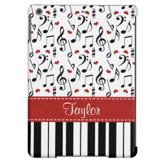 Music Note Piano Case For iPad Air