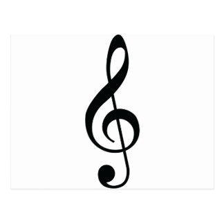 Music Note Postcard