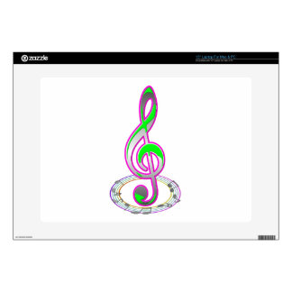 Music Note Skin For Laptop