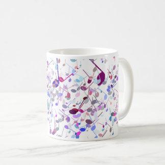 Music Note Splatter Mug