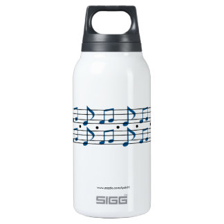 Music Notes 10 Oz Insulated SIGG Thermos Water Bottle