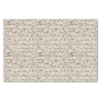 """Music notes 10"""" x 15"""" tissue paper"""