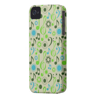 Music Notes and Clefs iPhone 4 Case