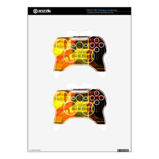 Music Notes and Guitar Xbox 360 Controller Decal