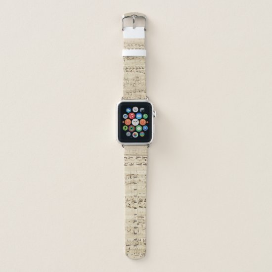Music Notes Apple Watch Band