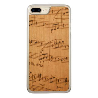 Music Notes Background Carved iPhone 7 Plus Case