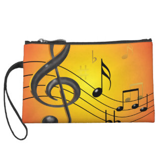 Music Notes Bagettes Bag