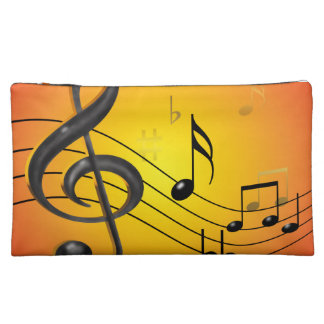 Music Notes Bagettes Bag Cosmetic Bag