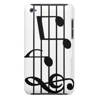 Music Notes Barely There iPod Cover