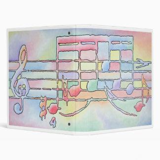 Music Notes Binder